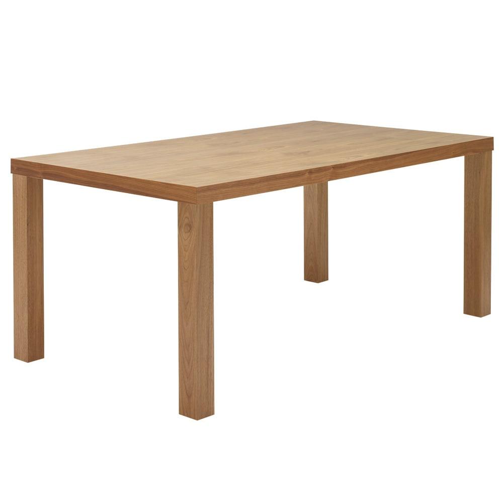Multi マルチダイニングテーブル ウッドレッグタイプ 幅160cm 色見本:ウォルナット