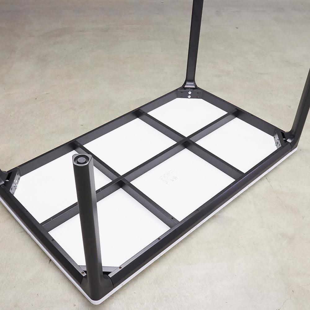 ALMER/アルメール 大理石調ダイニングシリーズ テーブル145 5点セット