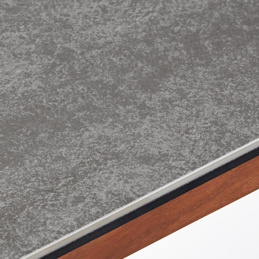 Zwart/ズワルト セラミックダイニングシリーズ テーブル 幅150 熱やキズに強いセラミック天板。