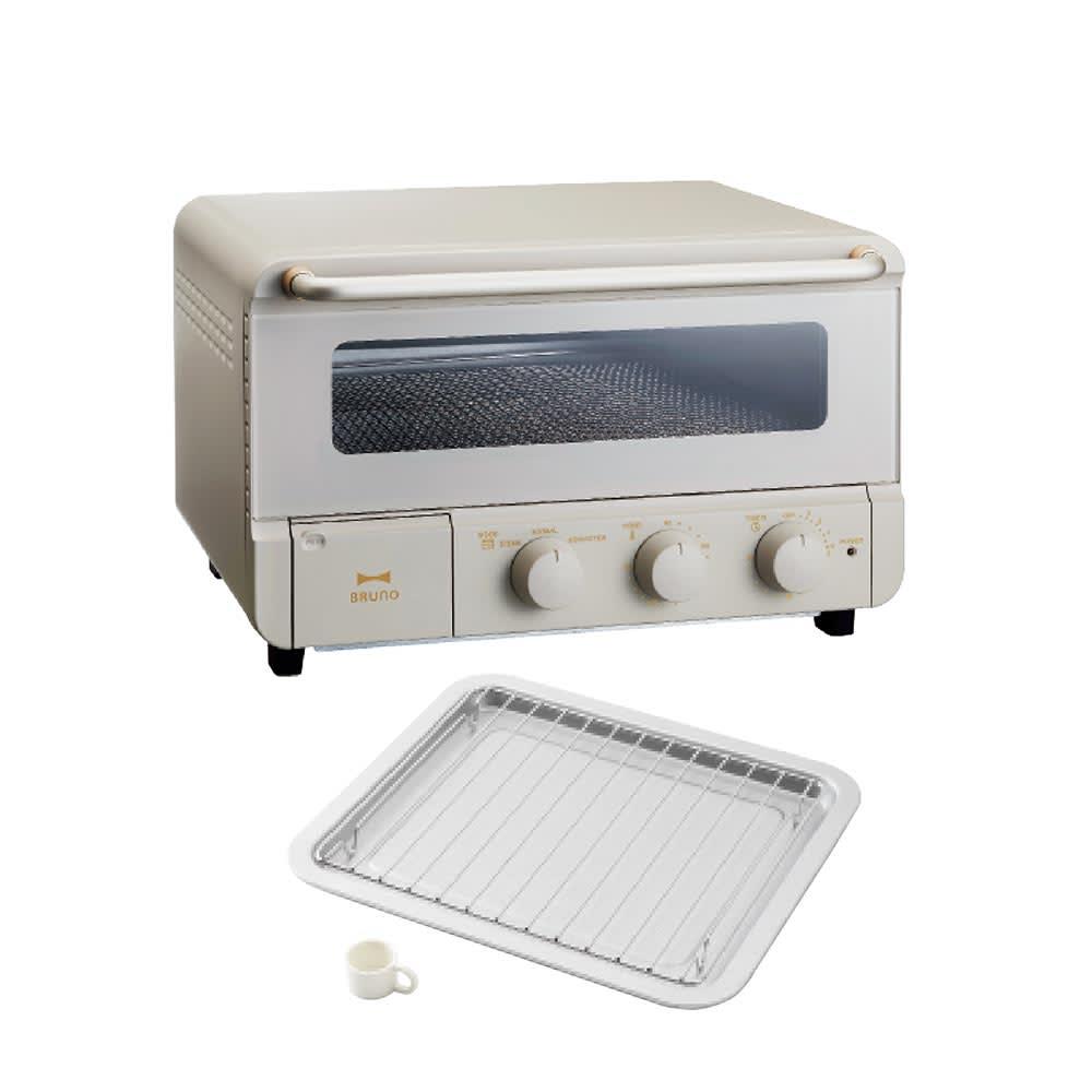キッチン 家電 調理家電 キッチン家電 トースター オーブントースター BRUNO crassy+/ブルーノ クラッシイ スチーム&ベイクトースター H04001