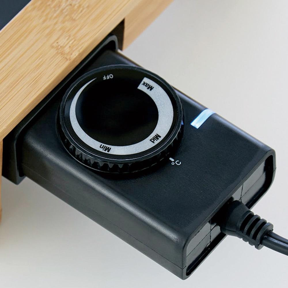 PRINCESS/プリンセス テーブルグリル  ホットプレート Min:約80~90℃、Mid:約160~180℃、Max:約240~250℃のダイヤル式