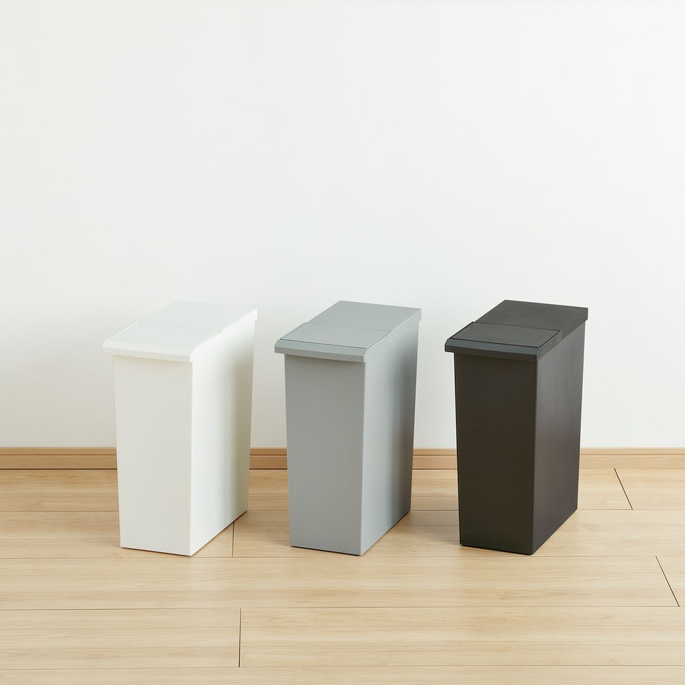 TOSTE/トステ カウンター下ダストボックス 3個組 (エ)ミックス