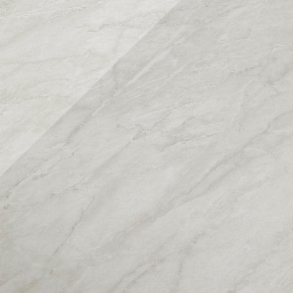 Lilja/リルヤ 大理石調天板棚収納キッチンカウンター家電ラック付き 幅120cm奥行48cm高さ88cm 天板はホワイトにグレー系のマーブル。大理石をリアルに再現した素材感が魅力です。