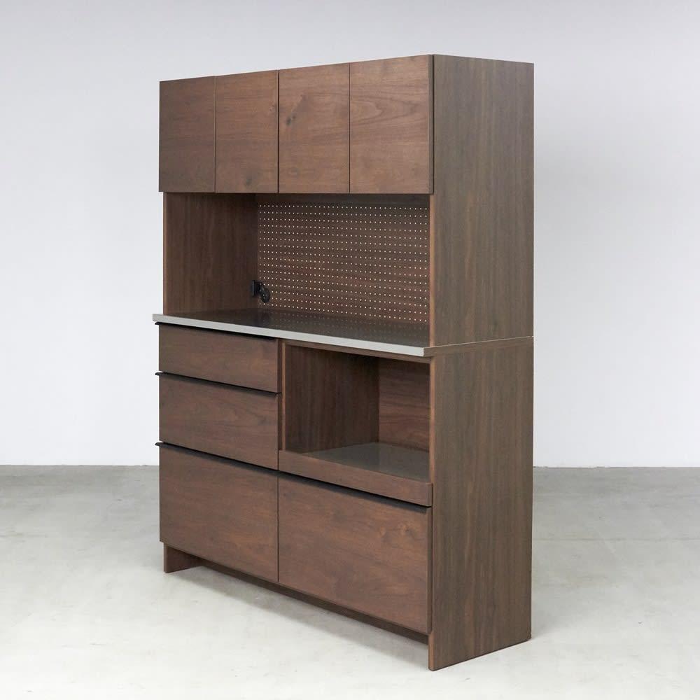 Lana/ラナ ステントップボード・キッチンボード 幅140cm ウォルナット