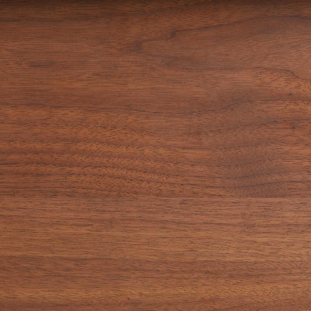 Lana/ラナ ステントップボード ダスト収納 ウォルナット 天然の木目が魅力味わいのある木目がラフな印象。