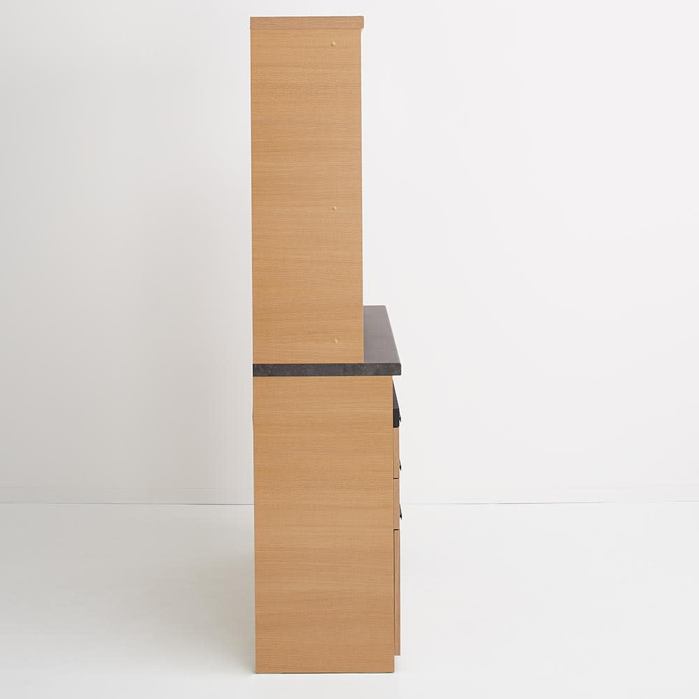 Boulder/ボルダー 石目調天板キッチンシリーズ ボード 幅120cm 奥行45cm 側面