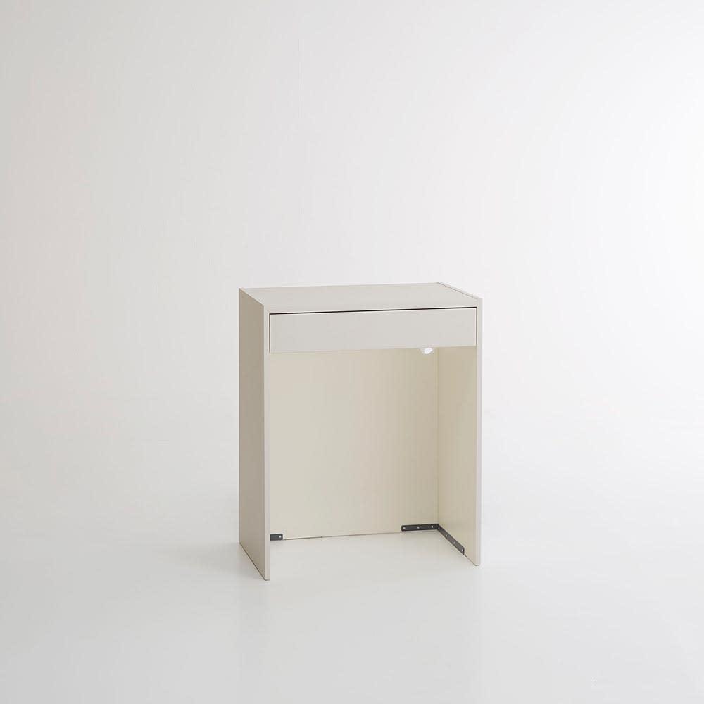 Enkel/エンケル キッチンシリーズ 幅72cm オープンカウンター (ア)マットベージュ お届けする商品になります
