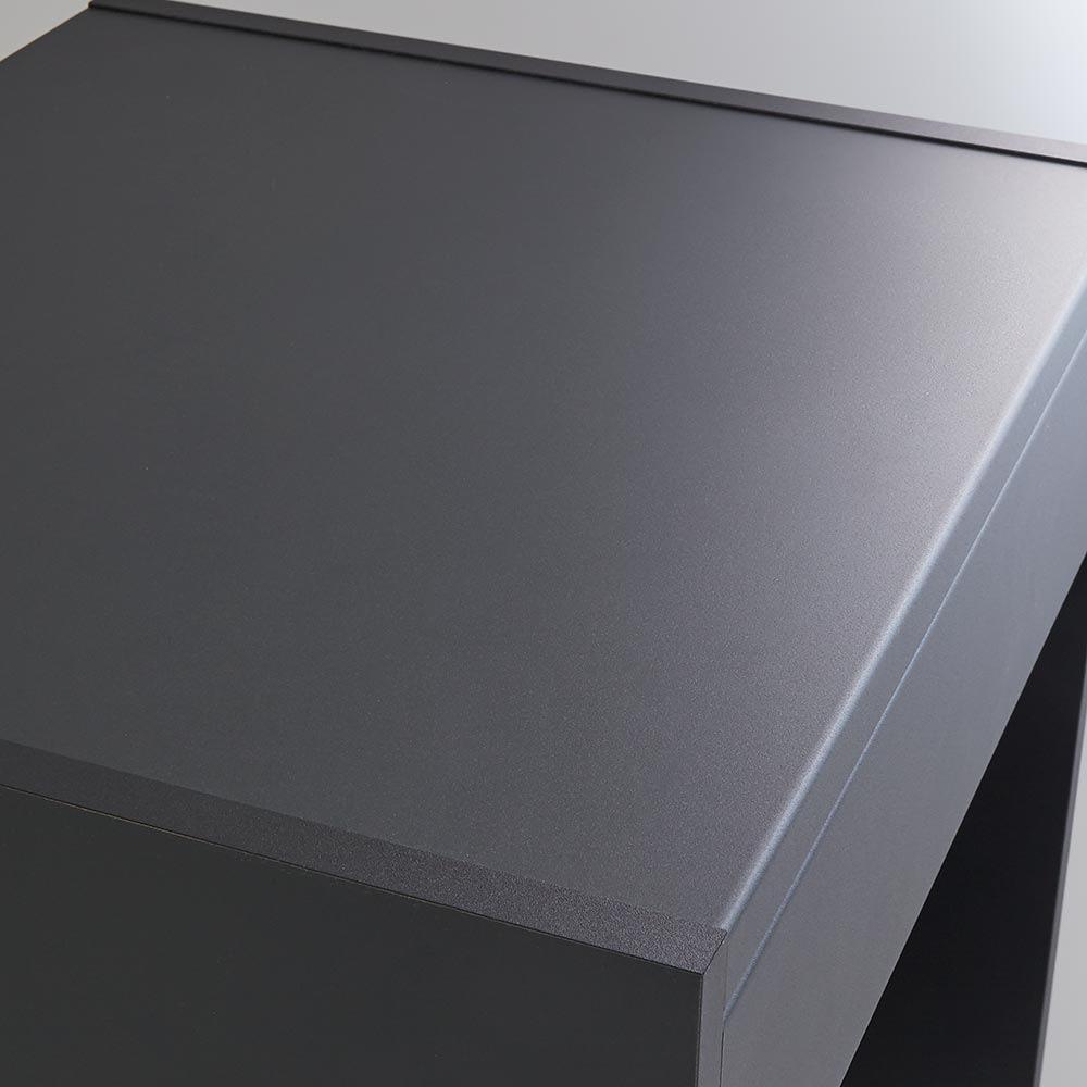 Enkel/エンケル キッチンシリーズ 幅72cm オープンカウンター 天板は熱を発する家電を置いても大丈夫です(熱したフライパンの直置きは避けてください)