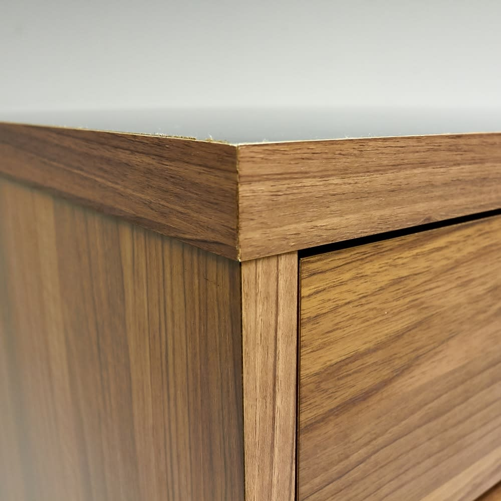 Granite/グラニト アイランド間仕切りキッチンカウンター幅90cm 引き出しタイプ 角まで丁寧に仕上げた国産・日本製家具です。