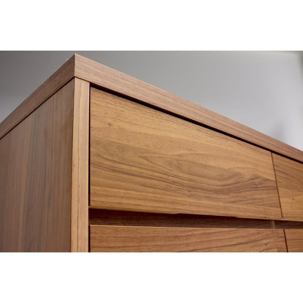 Granite/グラニト アイランド間仕切りキッチンカウンター幅140cm 引き出しタイプ 角まで丁寧に仕上げた国産・日本製家具です。