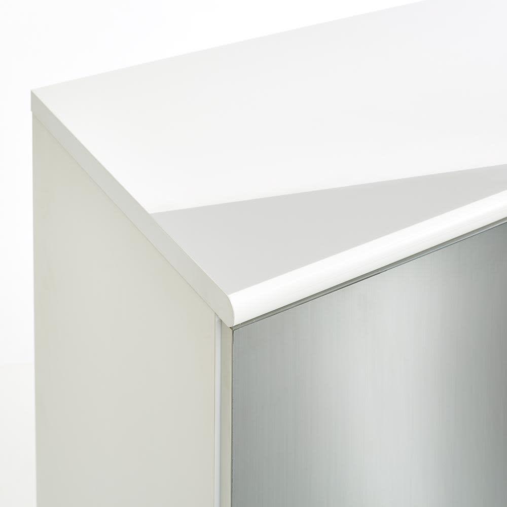 Liam/リアム キッチンカウンター チェスト 幅161cm 高さ85cm (イ)ホワイト