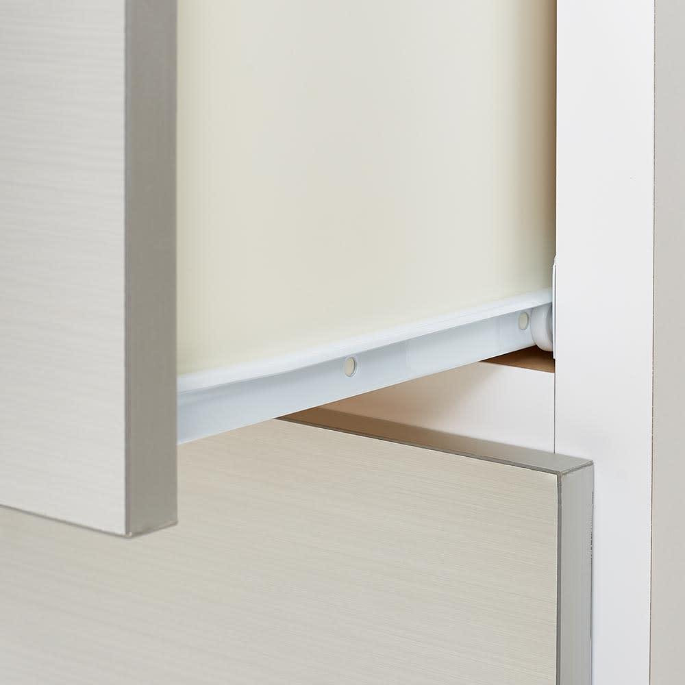 Liam/リアム キッチンカウンター チェスト 幅100cm 高さ100cm 引出しは開閉がスムーズなスライドレール付き。(イ)ホワイト