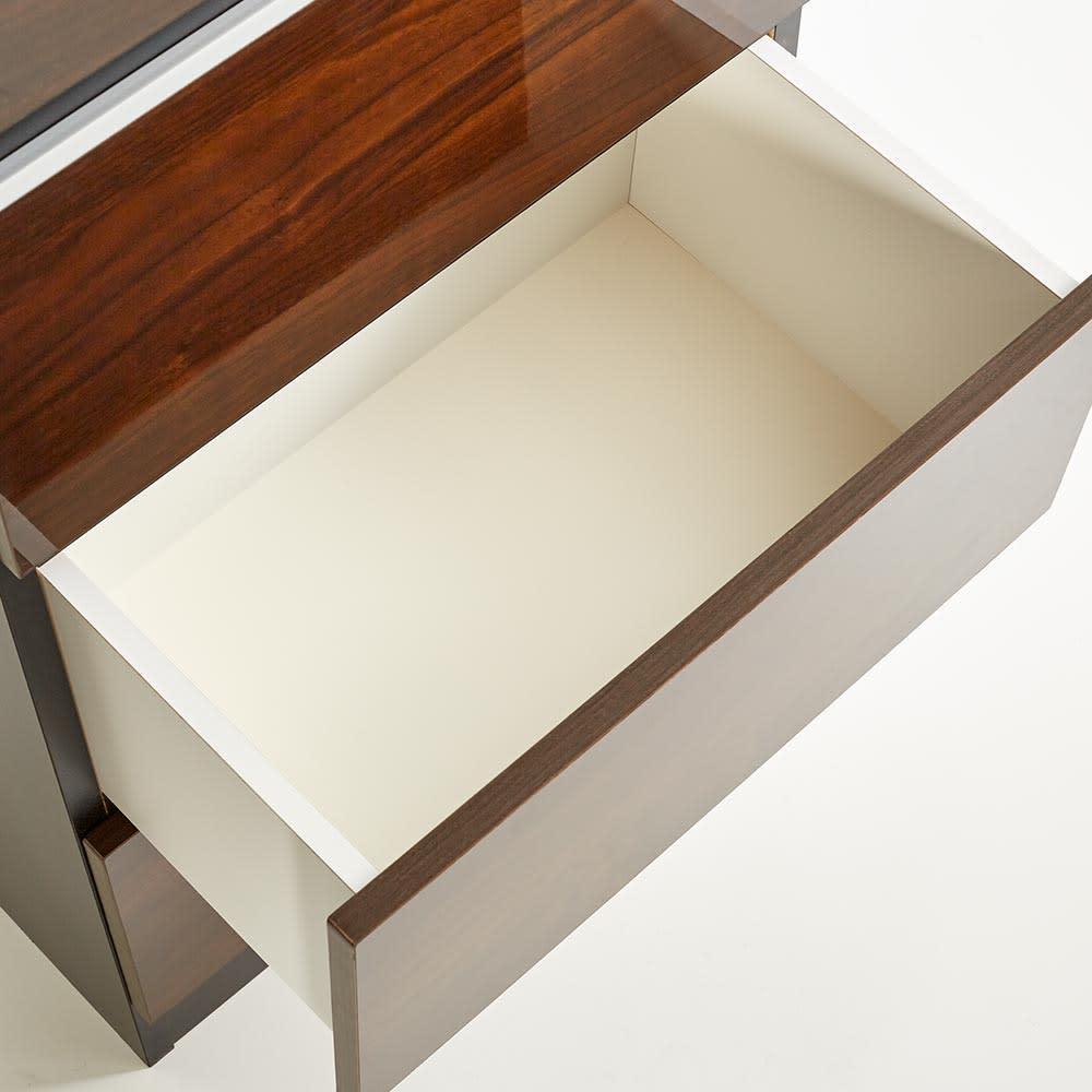 Peili/ペイリ カウンター下収納庫 引き出し幅44cm 奥行29.5cm 引出しの内部も化粧仕上げでお手入れ簡単