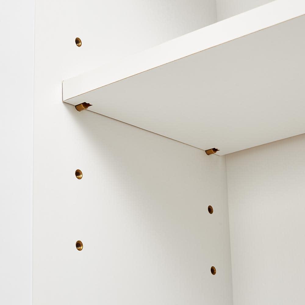 Venlo/フェンロー カウンター下収納庫 収納庫幅80cm 高さ71cm 可動棚は6cmピッチ5段階で調整が出来ます。