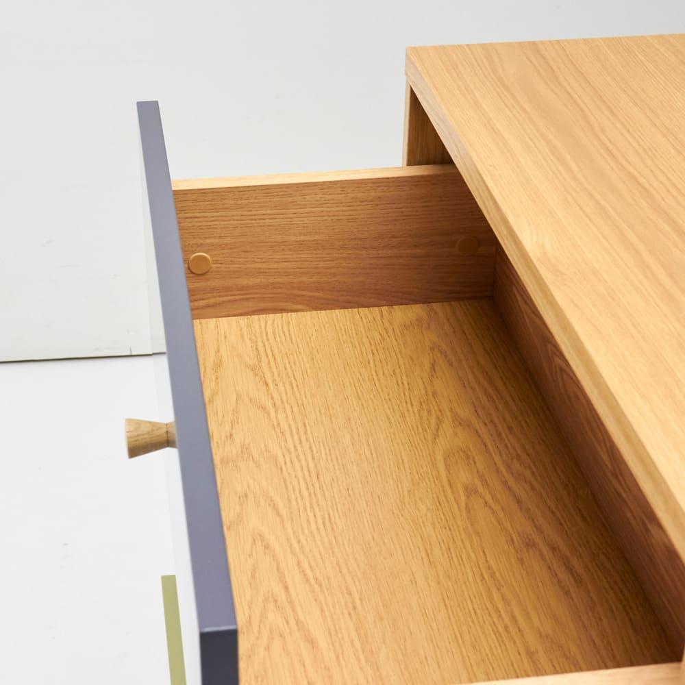 Abbey wood アビーウッド キャビネット 幅60cm 引き出し有効内寸:大=幅52奥行26高さ11.5cm