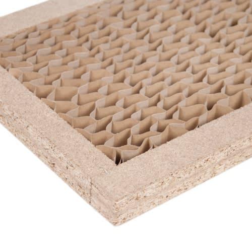 Pombal/ポンバル シェルフ 2連セット 高さ224cm 棚板など部材の内部はハニカム構造で強度を高めています。