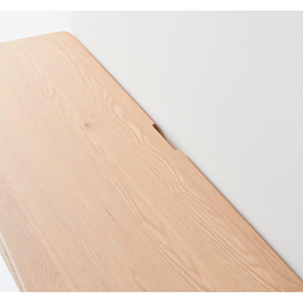 Vilhelm(ヴィルヘルム) ウェーブシリーズ デスク 幅120cm