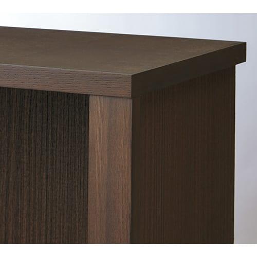 Chasse(シャッセ) ブックシェルフ 幅82奥行30高さ120.5cm ダークブラウン:天然木フレームの高級感あるたたずまい。