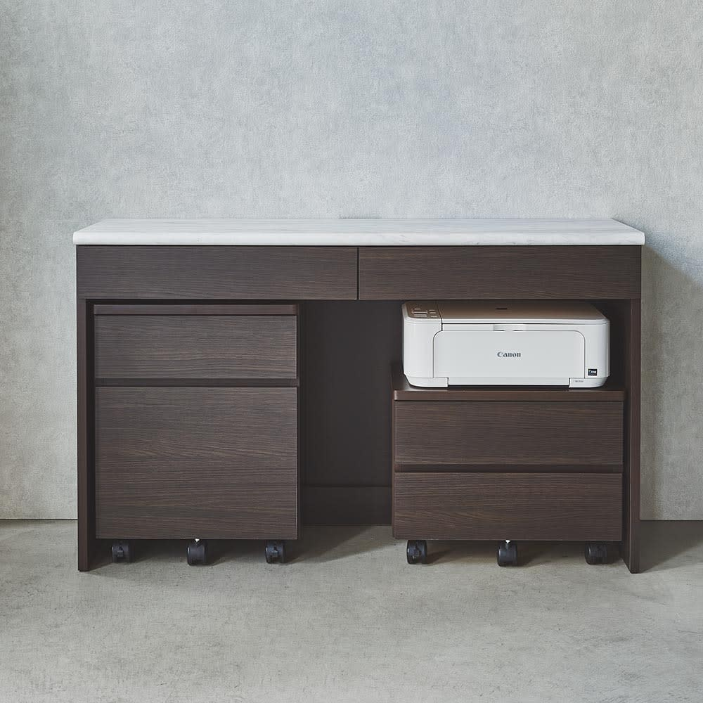 Canan/カナン 大理石調デスクシリーズ プリンターカート