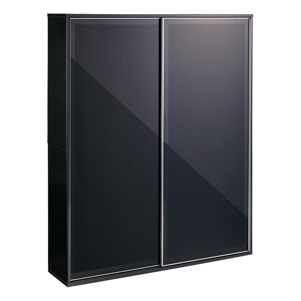 Evan(エヴァン) スライドシェルフ ハイタイプ本棚 幅150cm イ)ブラック クールな印象のブラックは、モノトーンスタイルにもおすすめです。