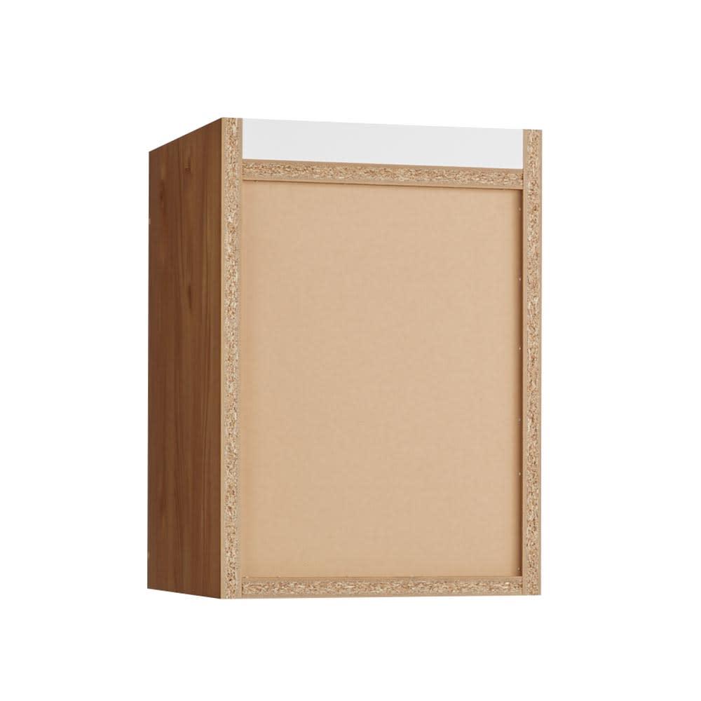 K´astani/カスターニ バイカラーコレクション本棚 高さサイズオーダー上置き 奥行45cm・幅40.5 高さ26~59cm 背面