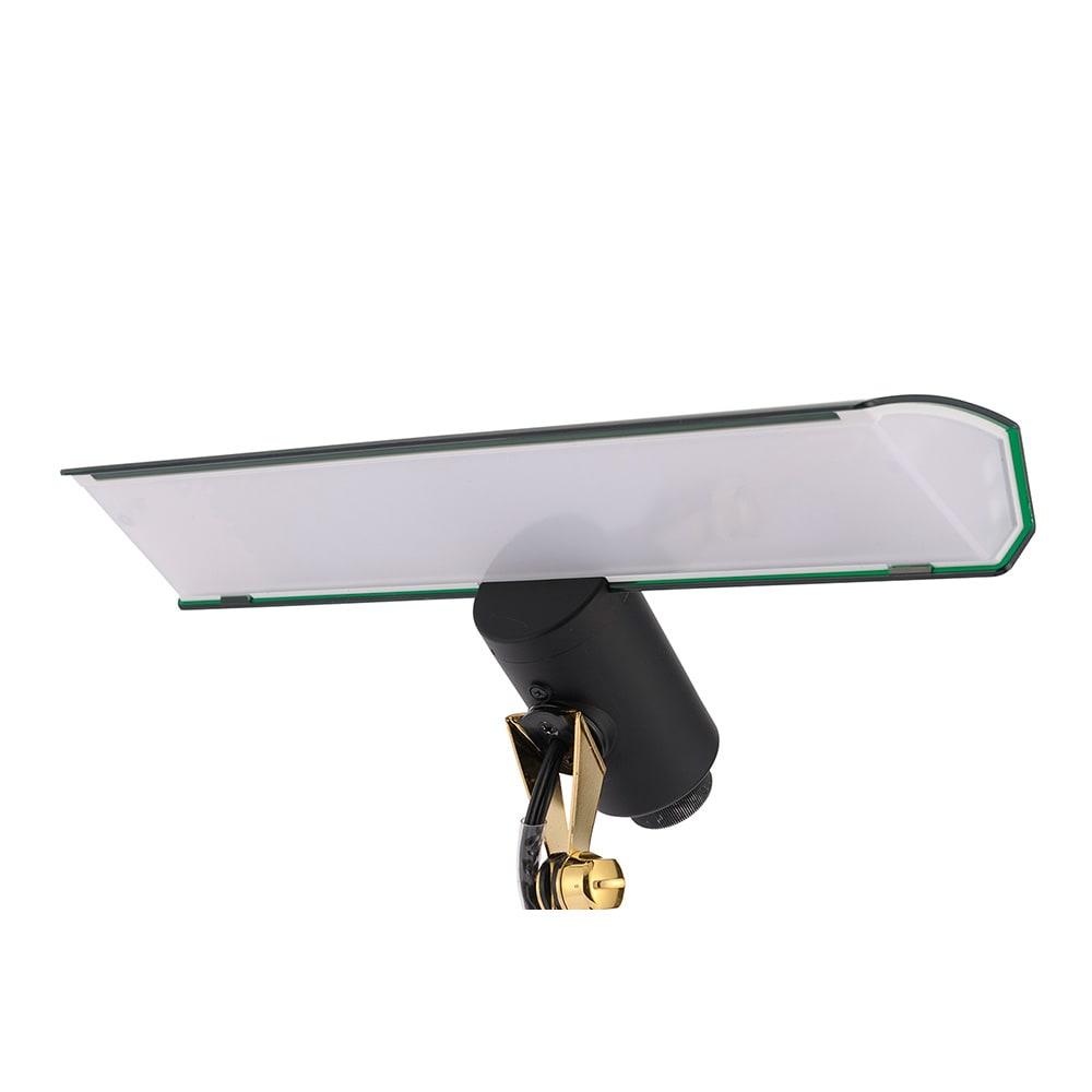 Ilumina/イルミナ デスクライト シェードの大きさは28.5cm。広範囲を照らしてくれます。