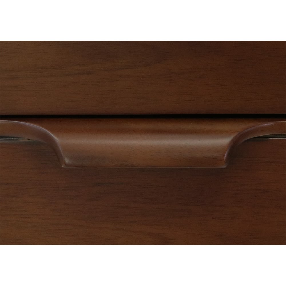 Modernew/モダニウ リビング収納シリーズ コンソールテーブル 上質なマホガニー無垢材から丁寧に削りだした手触りの良い把手。