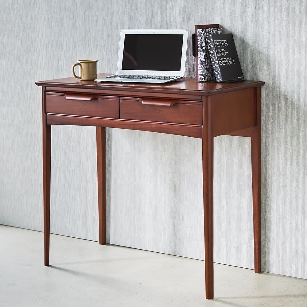 Modernew/モダニウ リビング収納シリーズ デスク ミニ書斎&小物家具として、リビングだけでなく書斎、子供部屋など場所を選ばず活躍します。