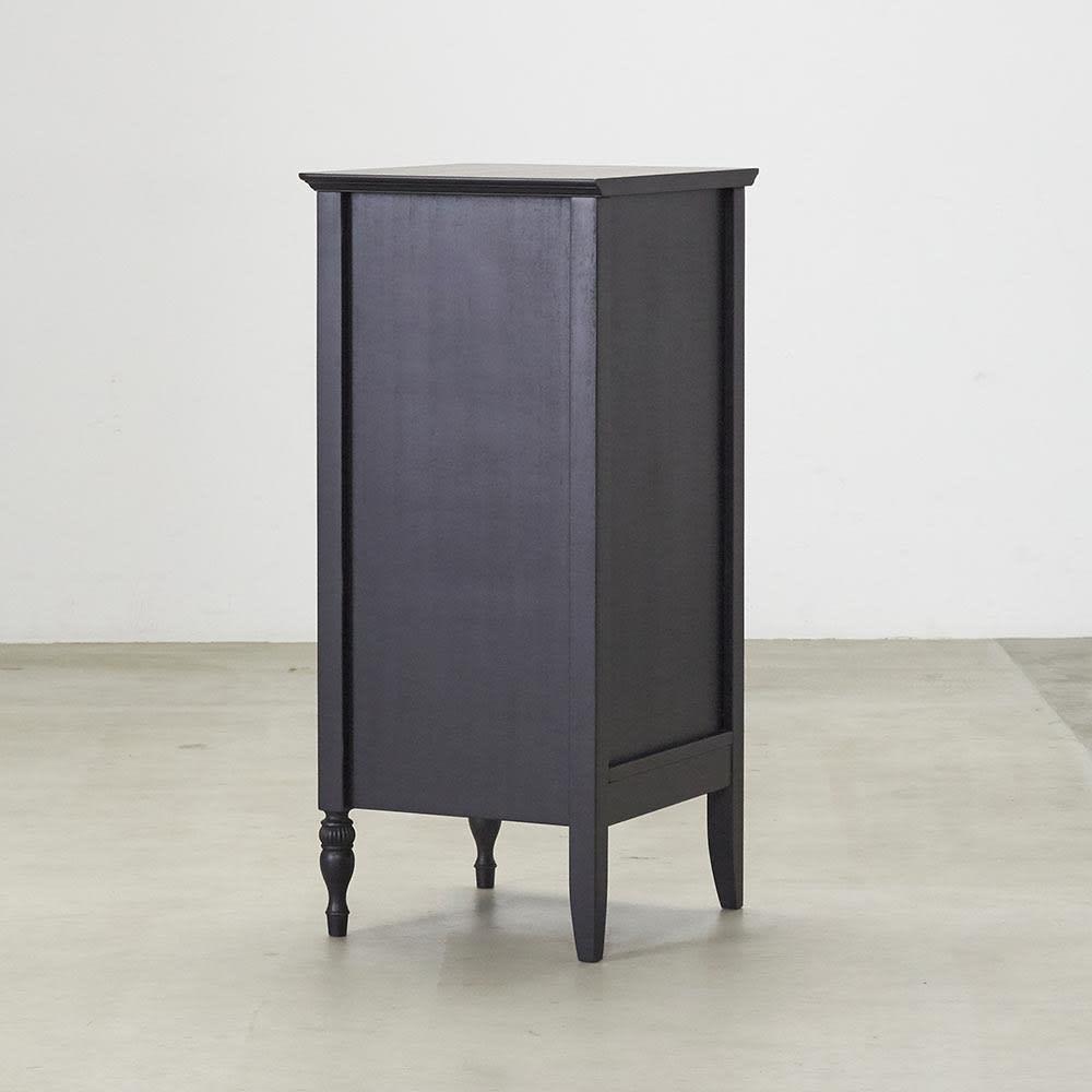 Noir/ノワール アンティークシリーズ チェスト 幅45cm 背面
