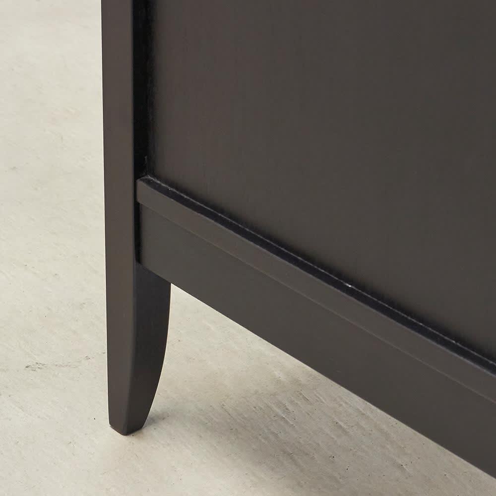 Noir/ノワール アンティークシリーズ チェスト 幅70cm 後部の脚