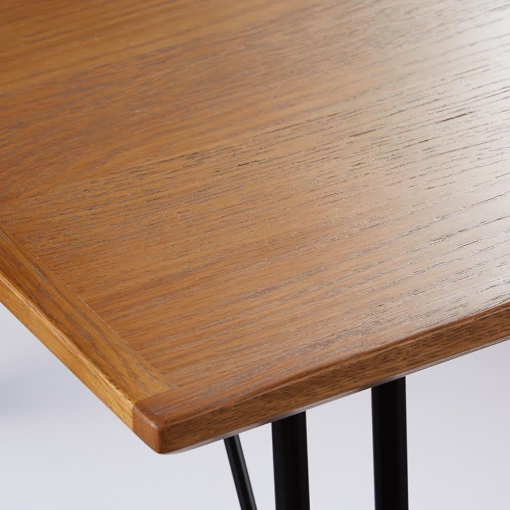 HS Brookryn/エイチエスブルックリン リビングシリーズ センターテーブル ホワイトオーク突板(ウレタン塗装)を用いたナチュラルな天板。