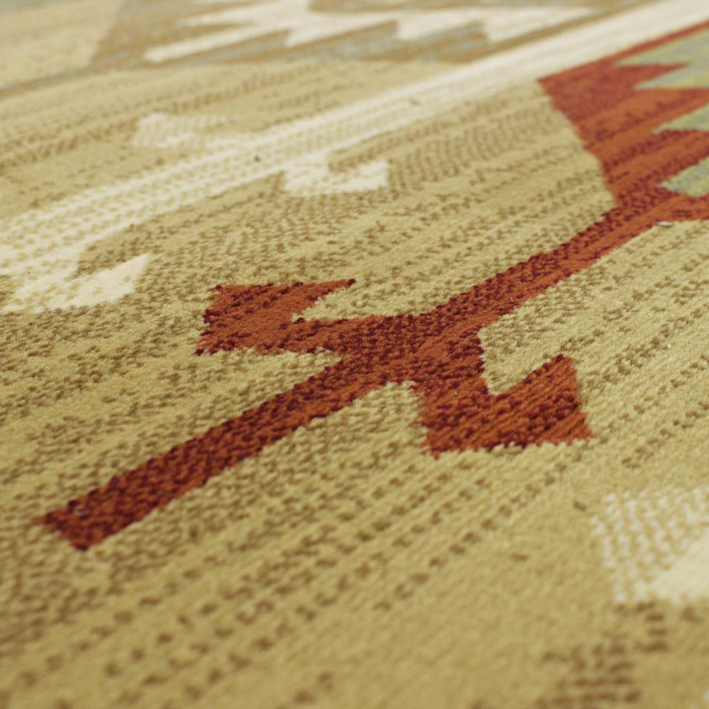 Pamir/パミール エジプト製ウィルトン織ラグ ベージュ系