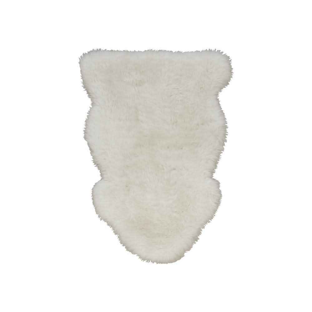 長毛フルスキンMouton/ムートン (ア)ホワイト 1匹物