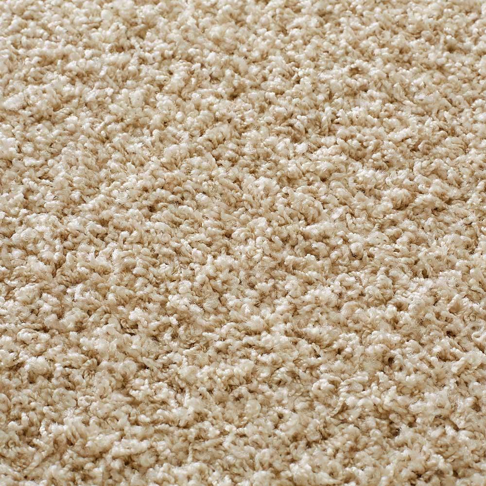 ナイロン洗えるツイストシャギーカーペット 3~12畳タイプ(イージーオーダー) (ア)ベージュ