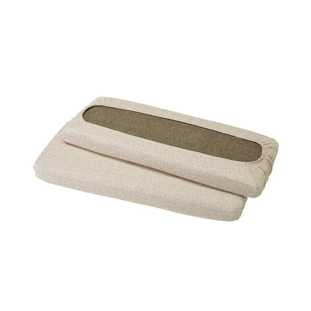スペイン製フィットカバーAndrea/アンドレア 座面・背もたれ兼用カバー(1枚) 裏面は全周ゴム仕様。2つ使うとセパレートタイプソファに対応します。