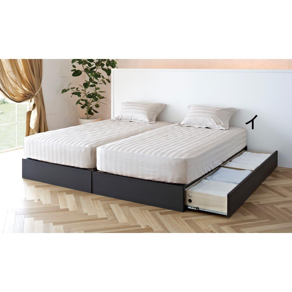 ベッド 寝具 布団 布団カバー シーツ類 柄カバーリング ワイドダブル(サティーンストライプ ベッドシーツ) H08429