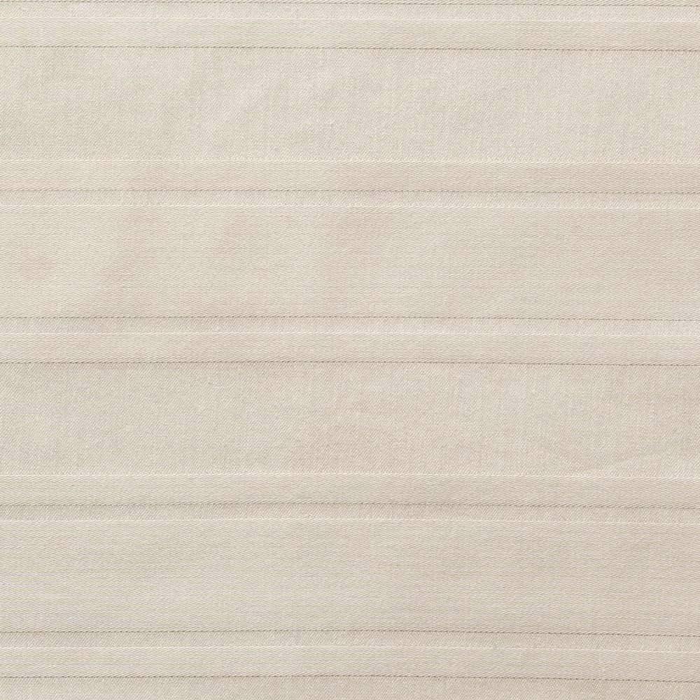 Sateen/サティーン ストライプ 超長綿カバーリング マルチシーツ(フラットシーツ) サンドベージュ