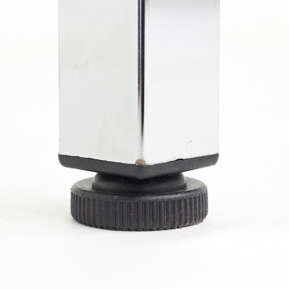 Shinevarie(シャインバリエ) クローゼットハンガーラック 幅150cm~250cm対応 脚部はアジャスター付き。歪んだ床にも対応が可能です。