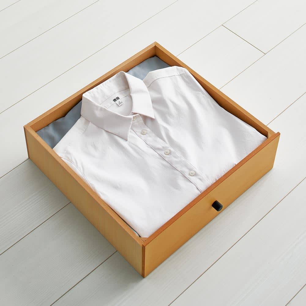 Ruche/ルーシュ ジュエリーチェスト アクセサリー収納 幅40 仕切りのない引き出しに、衣類から下着・巻物まで見やすく分類収納。