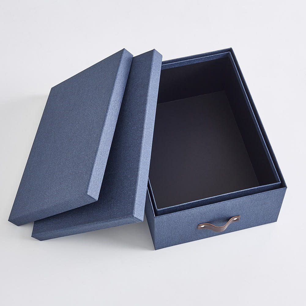Sサイズ収納ボックス 2個セット[BIGSOBOX/ビグソーボックス]スウェーデン生まれの収納ボックス 使わないときはひとつにまとめられます。
