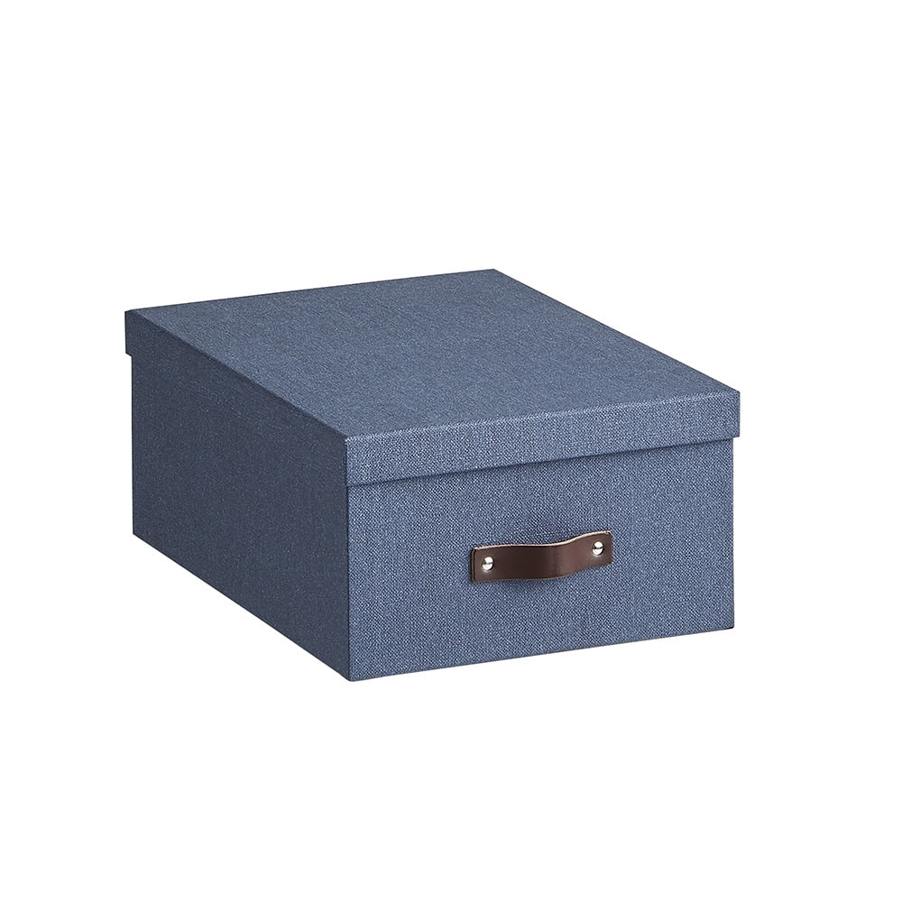Sサイズ収納ボックス 2個セット[BIGSOBOX/ビグソーボックス]スウェーデン生まれの収納ボックス (ウ)ネイビー・小