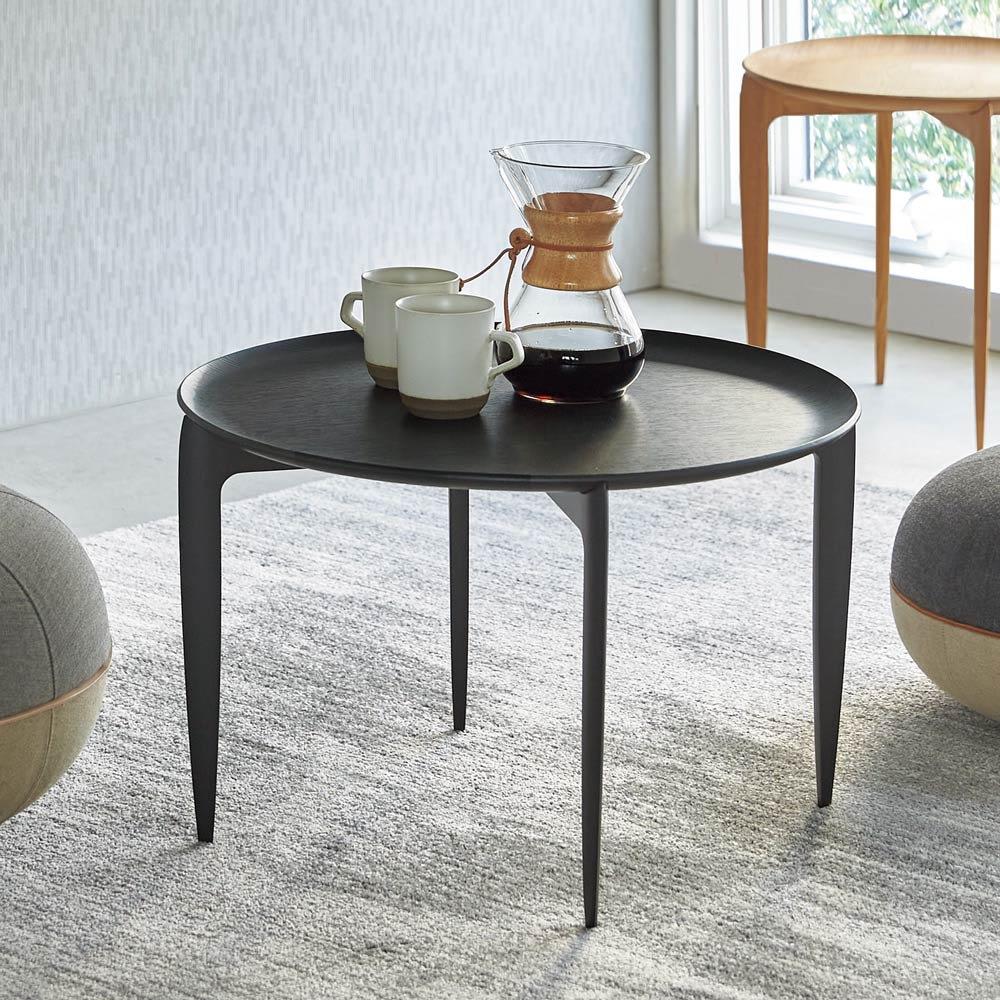 TRAY TABLE/トレイ テーブル ラージ[Fritz Hansen・フリッツ・ハンセン] ブラック 折りたたみテーブル