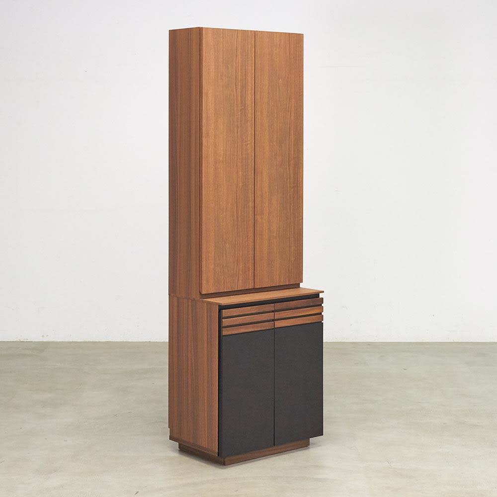 AlusStyle/アルススタイル シェルフシリーズ 上台:扉&下台:扉 幅60cm高さ192cm お届けの商品はこちらです。