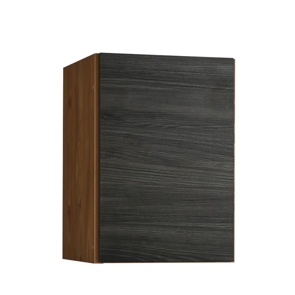 K´astani/カスターニ バイカラーコレクション本棚 高さサイズオーダー上置き 奥行45cm・幅40.5 高さ26~59cm お届けの商品です。