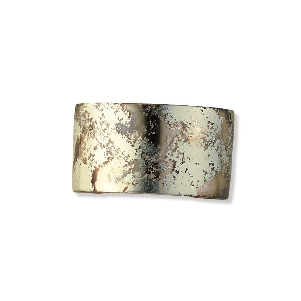 HAKUZA/箔座 純金プラチナ箔 アクリルバングル(久遠色・久遠色レイヤー) (イ)久遠色レイヤー