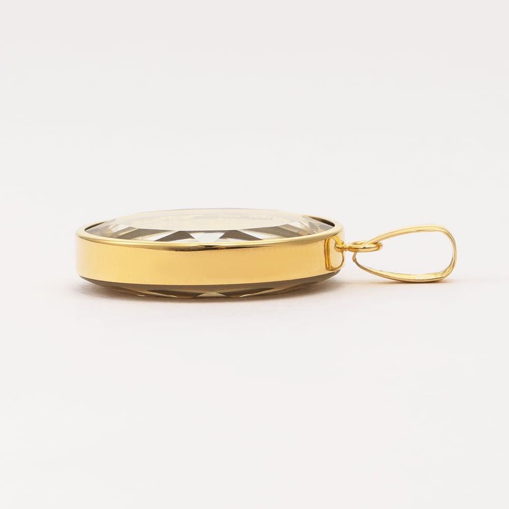 スイスパンプ社 純金 1/25オンスコイン ペンダントヘッド