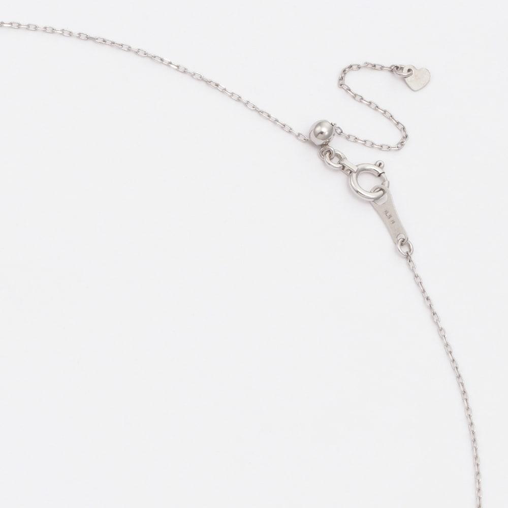 K18 0.5ct ダイヤフリンジネックレス スライドアジャスター