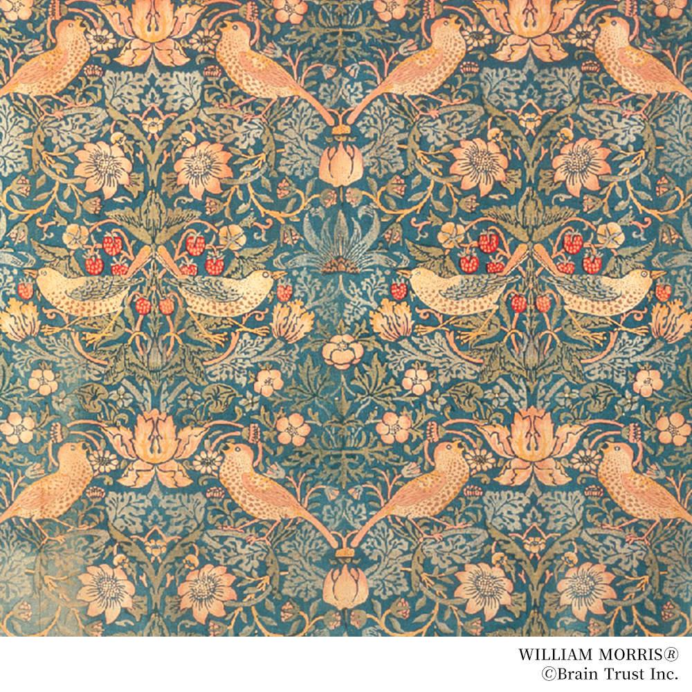 William Morris/ウィリアム・モリス いちご泥棒 インカローズ リング ジュエリーのデザインはウィリアムモリスの図案を基にしています。