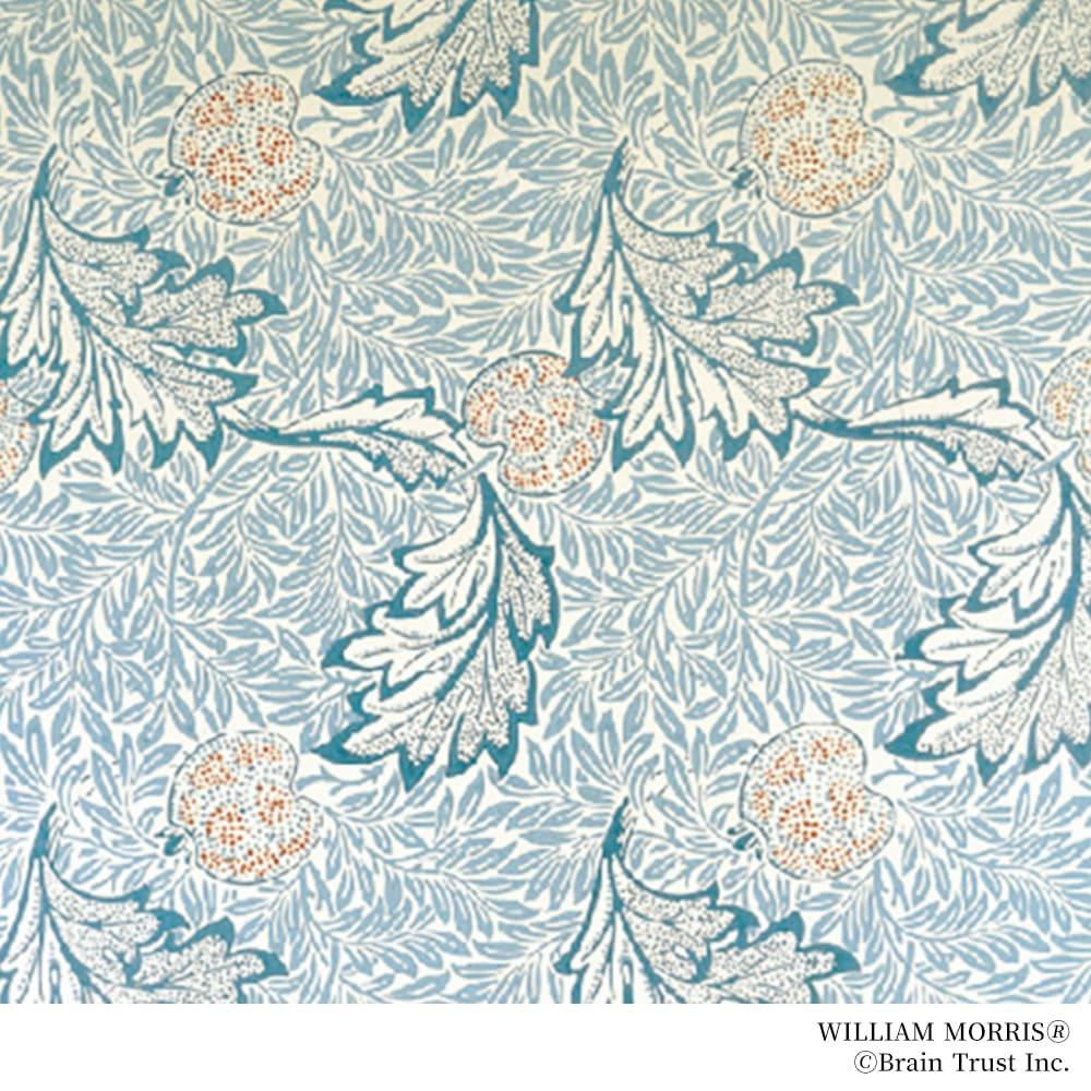 William Morris/ウィリアム・モリス りんご グリーンアゲート ブローチ ジュエリーのデザインはウィリアムモリスの図案を基にしています。