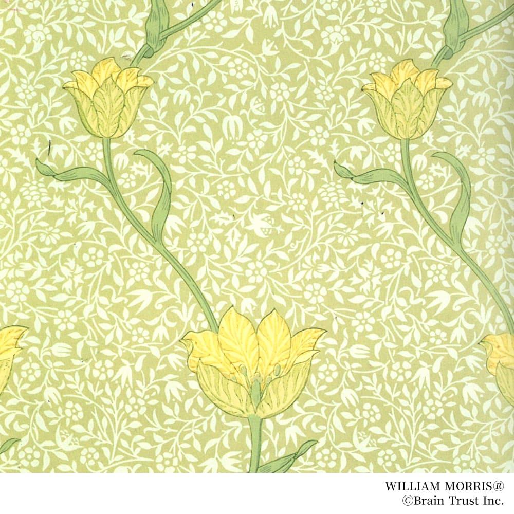 William Morris/ウィリアム・モリス ガーデンチューリップ ブローチ ジュエリーのデザインはウィリアムモリスの図案を基にしています。